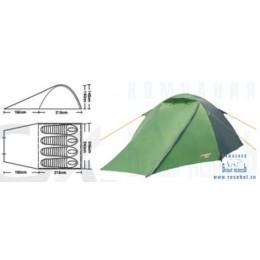 Палатка туристическая CAMPACK-TENT Forest Explorer 4 (2013)
