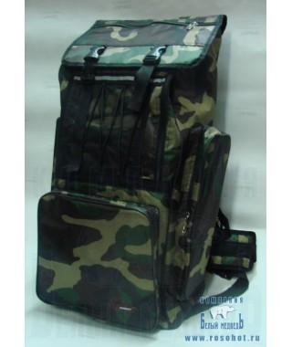 Рюкзак рыболовный SWD 70л (кмф клас)(7603117)
