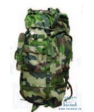 Рюкзак рыболовный SWD 70л+ сумка на пояс (кмф лес) (7603041)