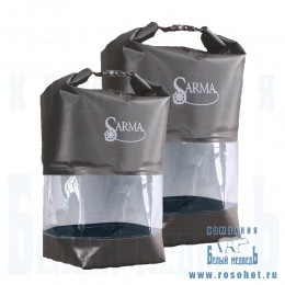 Баул водонепроницаемый SARMA с прозрачной вставкой 10л. (С 007-1)
