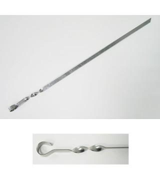 Шампур нержавеющая сталь плоский TEHNOLIT 610х10х2