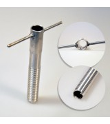 Буравчик универсальный нержавеющая сталь 20х140