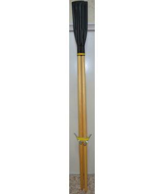 Весла гребные (дерево с уключинами 2шт. дл. 2,2 м, лопасть прямая)(К)