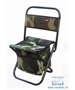 Стульчик SWD со спинкой и сумкой бол. усиленный (до90кг)(8709043)