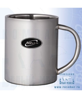 Термокружка Biostal NМ-220 С металлич. ручка 0,22л