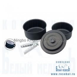 Набор посуды Kingpool анодированный алюм. (Р04018-11)