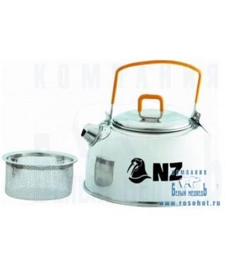 Чайник N.Z. нерж. 0,8 л.