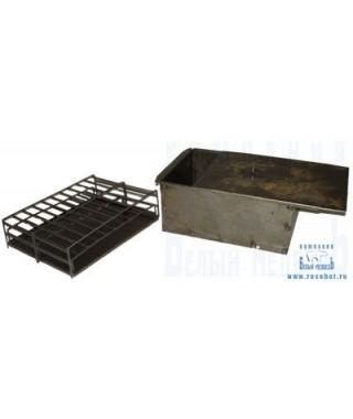 Коптильня (черный мет., 340*300*170, 3,9кг) (Пенза)