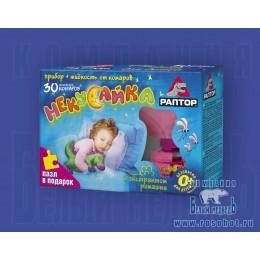 Комплект РАПТОР для детей прибор+жидкость от комаров 30 ночей