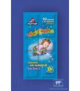 Пластины РАПТОР для детей от комаров в мини-прилавке
