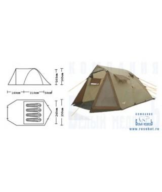 Палатка кемпинговая CAMPACK-TENT Camp Voyager 4 (2013)