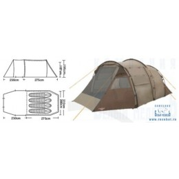 Палатка кемпинговая CAMPACK-TENT Land Voyager 4 (2013)