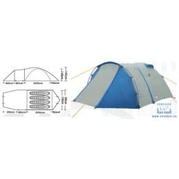 Палатка туристическая CAMPACK-TENT Breeze Explorer 4 (2013)