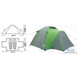 Палатка туристическая CAMPACK-TENT Hill Explorer 2 (2013)