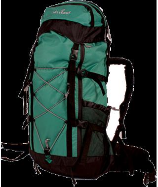 Рюкзак WoodLand WAVE 90L (зеленый/черный)