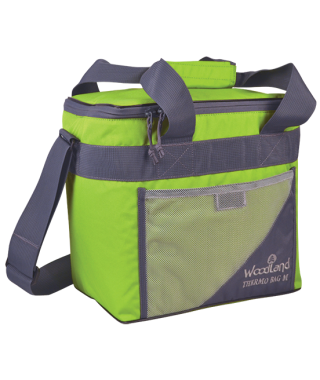 Термосумка WoodLand TERMO BAG L (30 л, зеленый/серый)