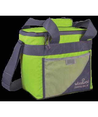 Термосумка WoodLand TERMO BAG M (20 л, зеленый/серый)