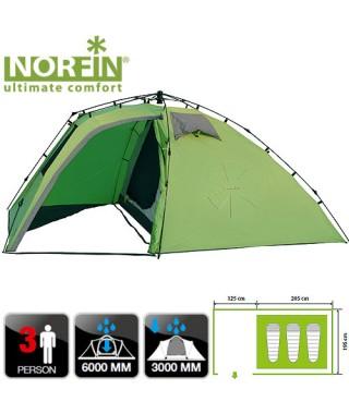 Палатка автоматическая 3-х мест. Norfin PELED 3 NF